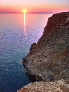 Sundown Cap de Barbaria